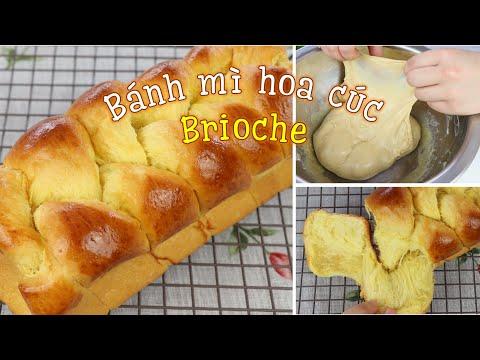 Cách làm bánh mì hoa cúc Brioche kiểu Pháp   Hướng dẫn chi tiết