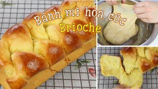 Cách làm bánh mì hoa cúc Brioche kiểu Pháp | Hướng dẫn chi tiết