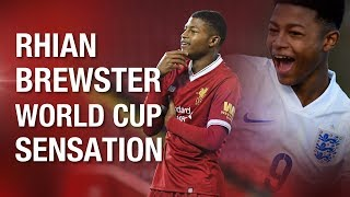 Everything you need to know about Liverpool's teenage striker Rhian Brewster