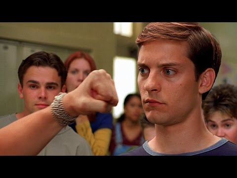 Peter Parker vs Flash - School Fight Scene - Spider-Man (2002) Movie CLIP HD thumbnail
