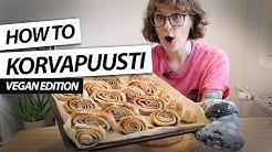 Baking Finnish Cinnamon Buns (Korvapuusti)