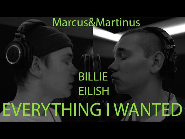 Billie Eilish - Everything I wanted (Marcus&Martinus cover)
