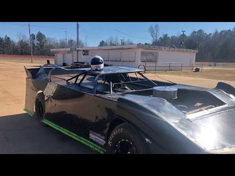Zachary Thompson Racing Testing At Sumter Speedway