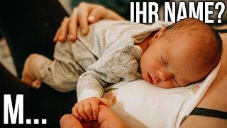 Wir verraten euch ihren Namen! 😱 Baby Name Reveal 💗