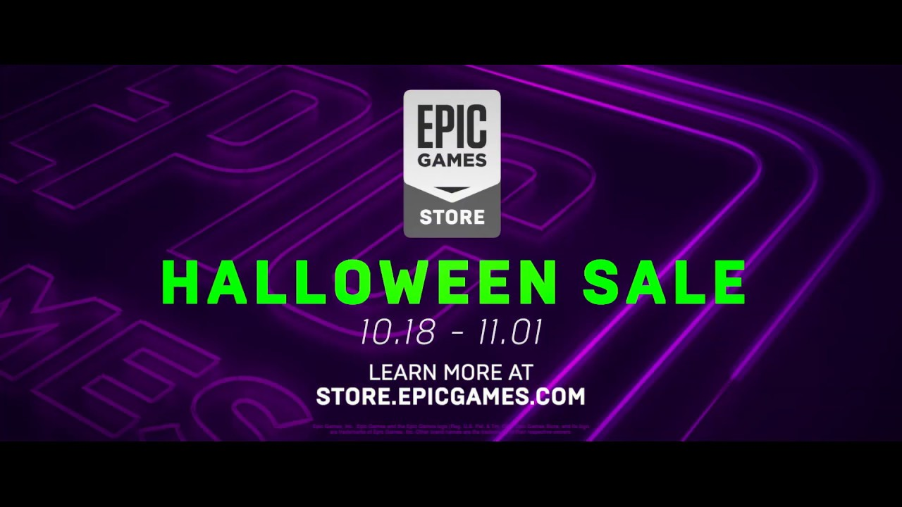 Epic Games Store Halloween Sale 2019