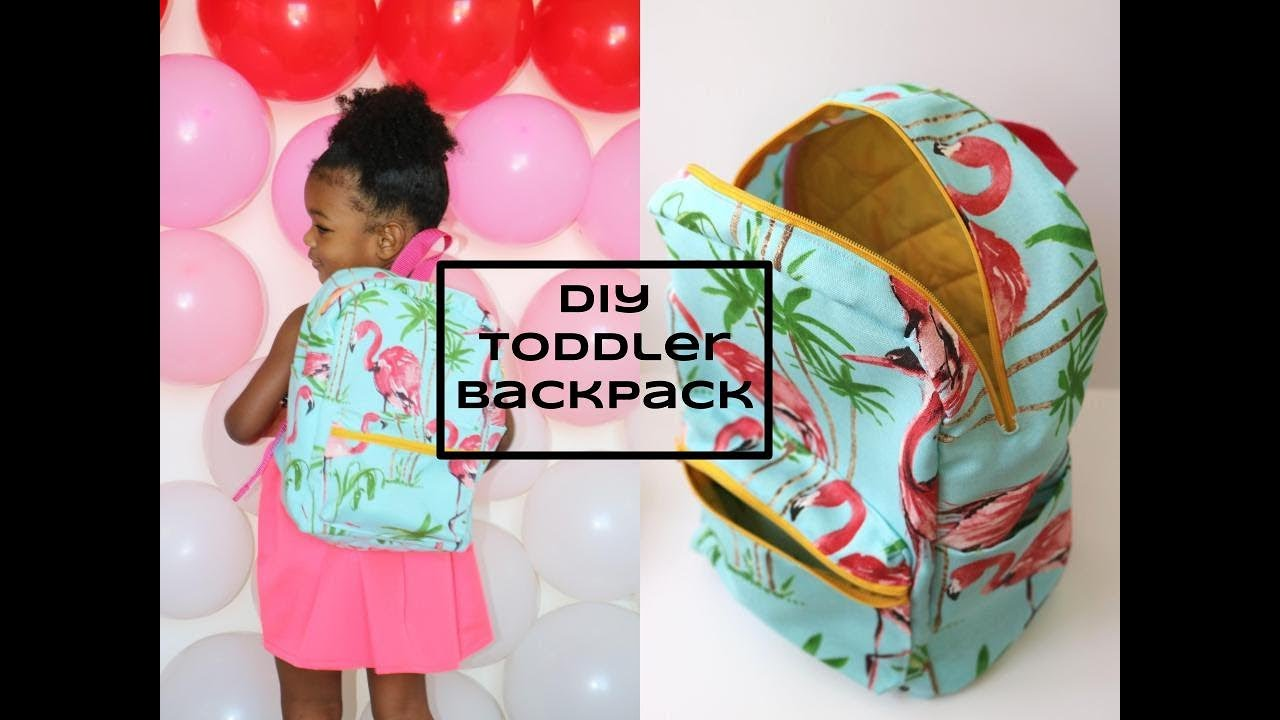 DIY Beginner Sewing Toddler Backpack - YouTube