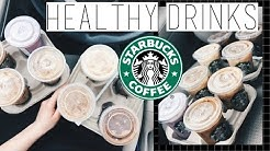 8 HEALTHY STARBUCKS DRINKS! STARBUCKS Life Hacks You HAVE to KNOW!!!