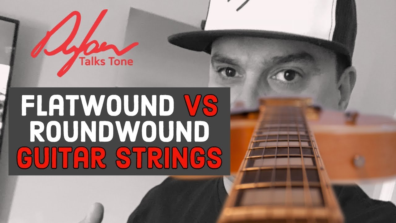 round wound vs flatwound guitar strings youtube. Black Bedroom Furniture Sets. Home Design Ideas
