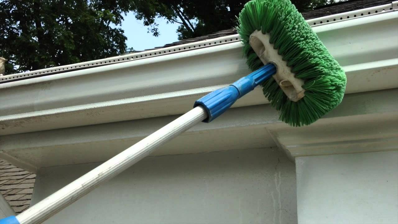 Gutter Restoration Amp Brightening Service Youtube