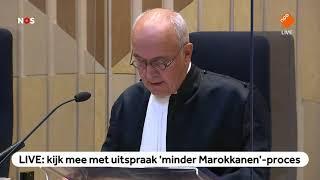 TERUGKIJKEN: Uitspraak in 'minder Marokkanen'-proces Wilders