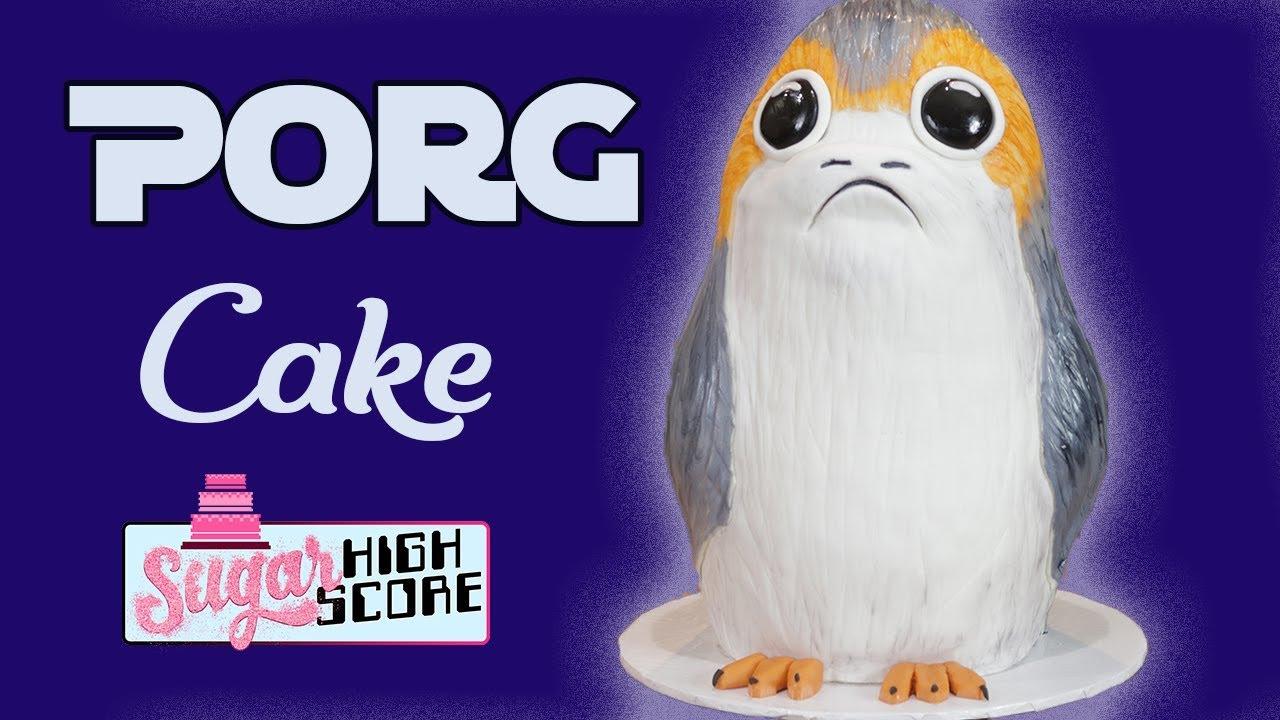 Star Wars Porg Cake Ideas