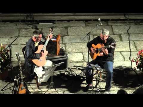 Cerro di Laveno Mombello - Jazz in Maggiore 2015 - concerto Stringsgame Duo (Tessarollo & Taufic)