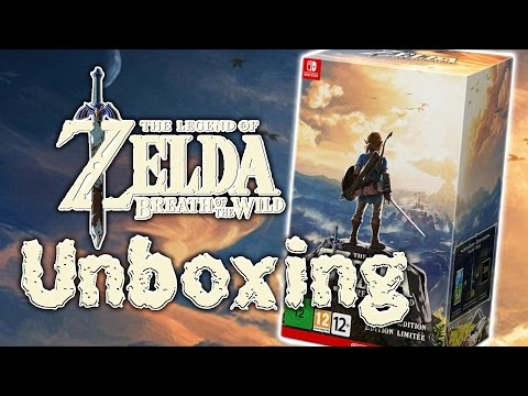lookslikeLinks Zelda Breath of the Wild Limited Edition Unboxing Session!