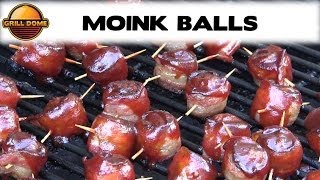 Grill Dome Kamados - Moink Balls