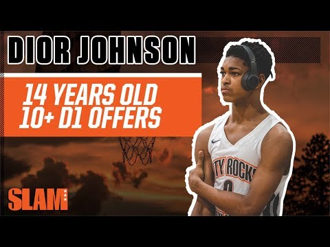 SHIFTY 14-Year-Old Dior Johnson has 10+ (!!!) D1 Offers 👀   SLAM Profiles