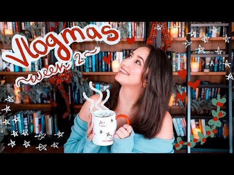 ✨Reading The Starless Sea, Book Mail, Baking, Self Care, and TikTok Fails!😩 | Vlogmas Week 2✨
