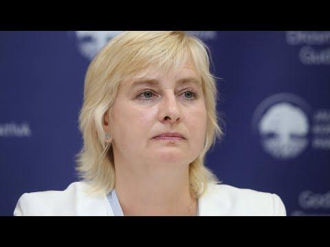 Juta Strīķe - JKP iekšlietu ministra amata kandidāte - JKP preses konference 18.07.2018.