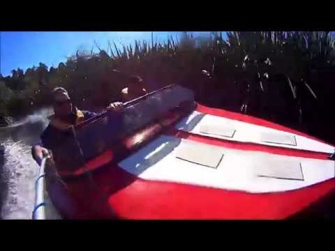 Jetboating Maori River - West Coast New Zealand. This is jetboating!