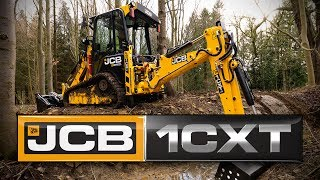 JCB 1CXT The World's smallest backhoe - Now with tracks!