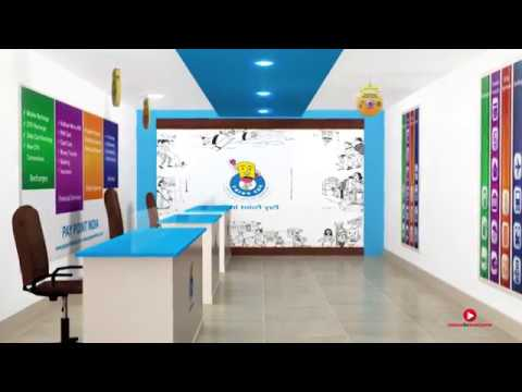 Paypoint India Shoppe /  Finance Company / Franchise /  3D / Product Presentation