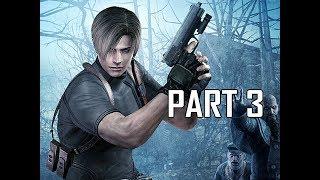 Resident Evil 4 Remastered Gameplay Walkthrough Part 3 - Boss Del Lago (RE4 Let's Play Commentary)