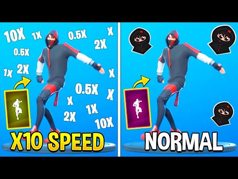 Fortnite Dances At Different Speeds (Chapter 2)
