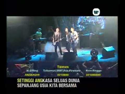 Free download lagu Mp3 Angkasa - Teman (live)