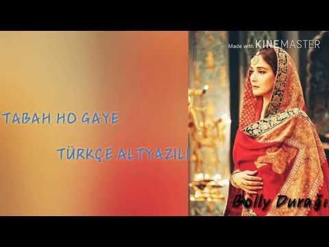 Tabaah Ho Gaye  Türkçe Altyazılı - Kalank / Shreya Ghoshal