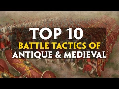 TOP 10 Battle Tactics of Antiquity and Medieval