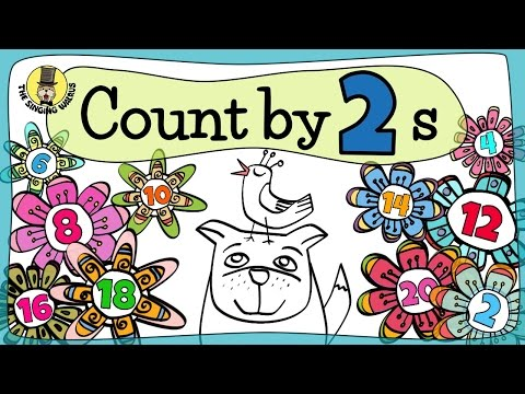 Counting in 2s | Song of Twos | The Singing Walrus