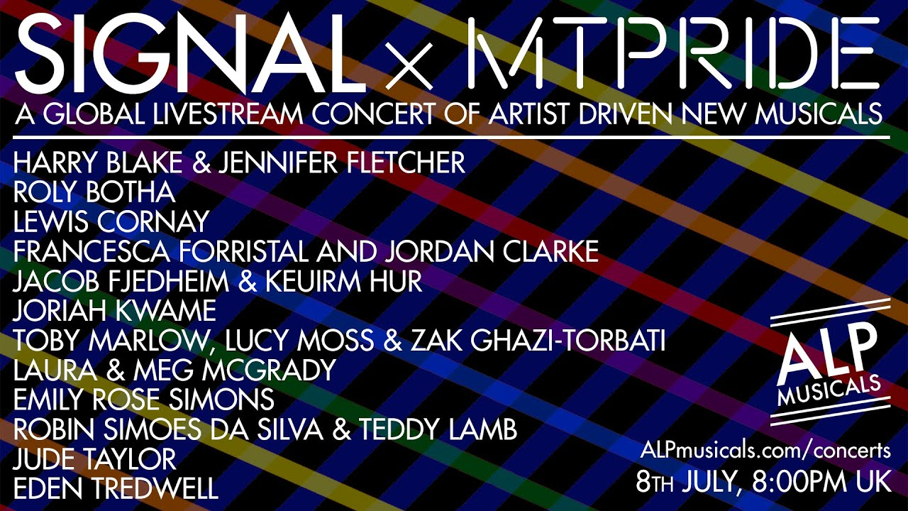SIGNAL x MT PRIDE - Wednesday 8th July, 2020