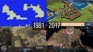 Evolution of Real Time Strategy (RTS) games from 1981 to 2017