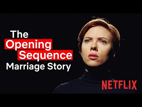 Marriage Story   The Opening Sequence   Netflix