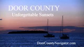 Unforgettable Door County Sunsets - Sister Bay - Door County Activities