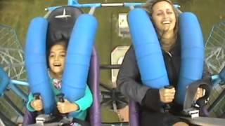 Michelle And Alessandra On The Slingshot