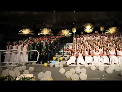 "Punahou Class of 2015 - Flash Mob / ""You'll Be In My Heart"" (Commencement 2015)"