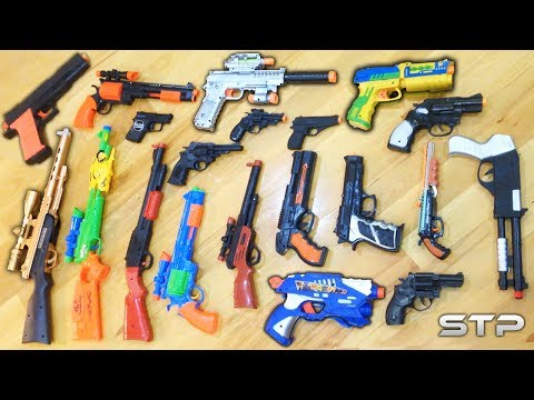 Toy Guns Collection! My Massive Toy Weapon Arsenal - What's in the box?