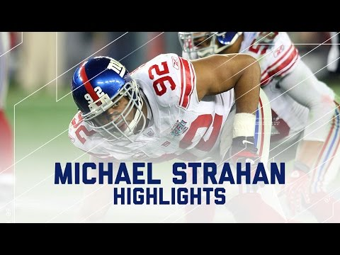 Michael Strahan Career Profile | NFL Legend Highlights