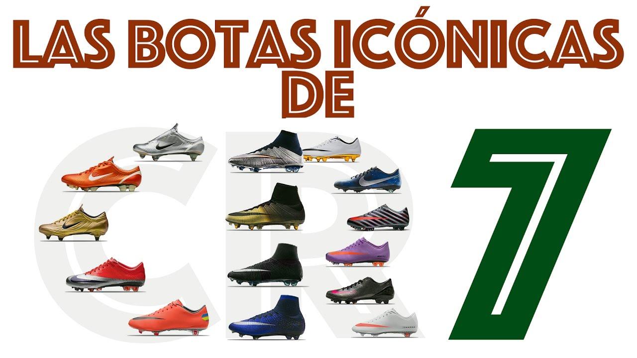 Las botas Nike más importantes en la carrera de CR7 - YouTube 4e214a7f73436