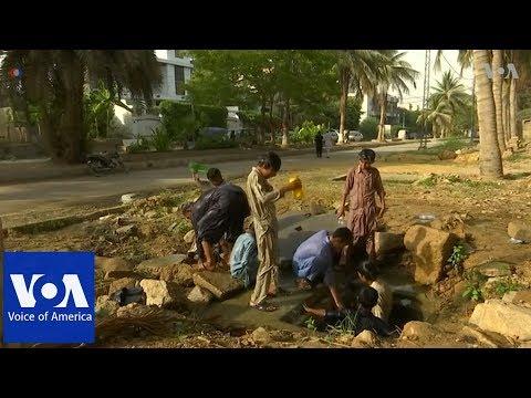 Pakistan's poor struggle to cope with heat during Ramadan