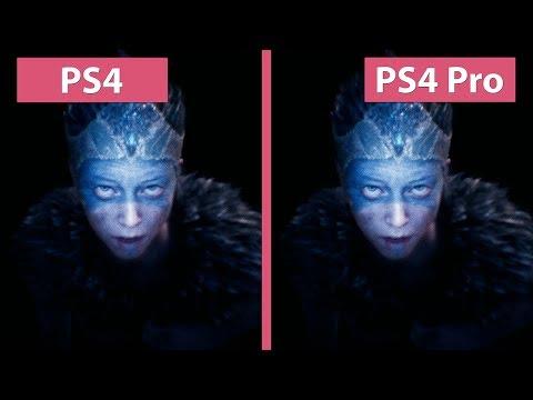 Hellblade Senua's Sacrifice – PS4  vs. PS4 Pro 30 & 60 Hz Mode Graphics Comparison
