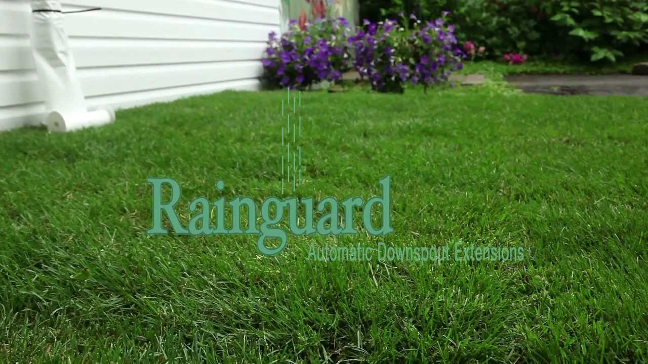 Rainguard Automatic Downspout Extensions Youtube
