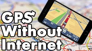How To Use GPS Navigation Without Internet On iPhone iPad and iPod Touch