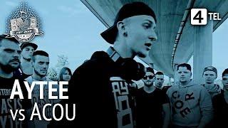 Repeat youtube video Aytee vs. Acou (feat. Shliiwa) | HR | VBT 2015 Viertelfinale (prod. by Flaver, G. Frenken & Ghana)