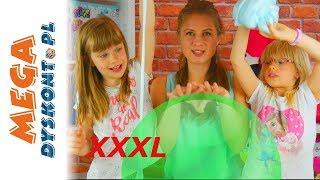 Slime XXXL DIY • Gigantyczny fluffy slime • kreatywne zabawy