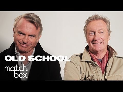 Sam Neill & Bryan Brown on their Old School Characters