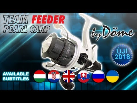 Bemutatom az új By Döme TEAM FEEDER Pearl Carp orsókat