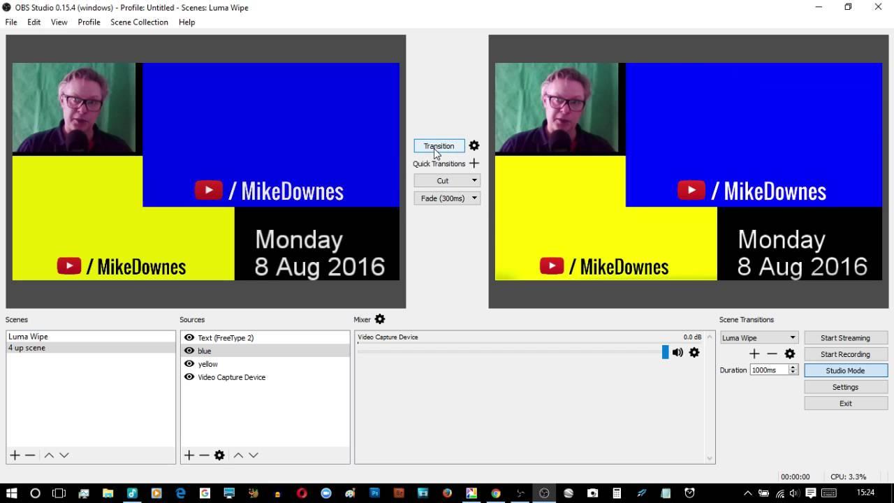 OBS Studio 0 15 4 Lock Preview walkthrough So Useful OMG