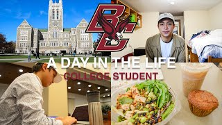 A Day In the Life of a Boston College Student