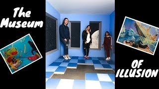 The Museum Of Illusion in LA *Cool Video*